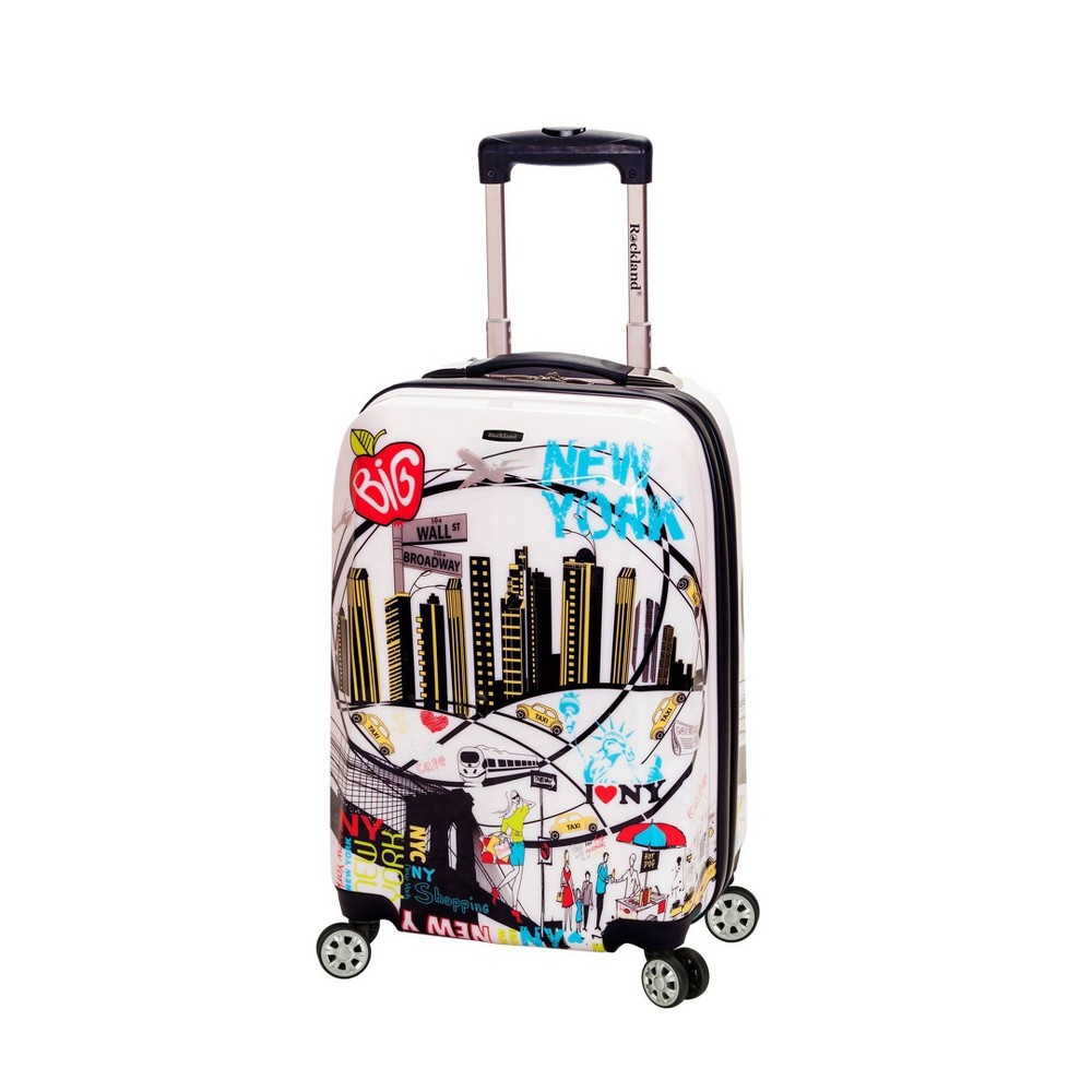 Rockland Vegas 20 34 Carry On Suitcase