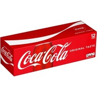 12-Pack Coca-Cola Coke Soda Soft Drink 12 Ounce Cans