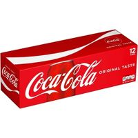12-Pack Coca-Cola, Pepsi, Sprite, Mountain Dew, Fanta & more