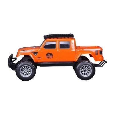 """Maisto Remote Control Jeep Gladiator  28"""" -  Orange"""