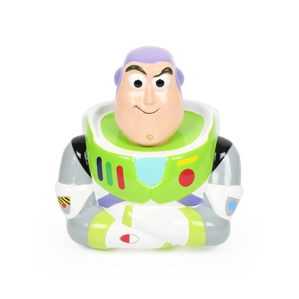 Image of Toy Story 4 Buzz Lightyear Coin Bank, White