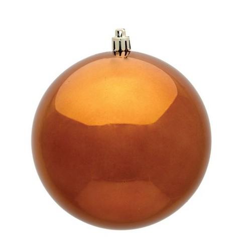 "Vickerman 2.4""/24ct Shiny Ball Ornament UV Coated Copper - image 1 of 1"