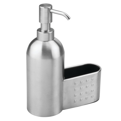 Interdesign Forma Stainless Steel Soap Pump And Amp Sponge Caddy