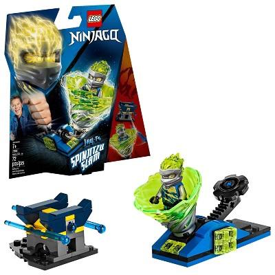 LEGO Ninjago Spinjitzu Slam - Jay Tornado Spinner Toy Building Set with Launcher 70682