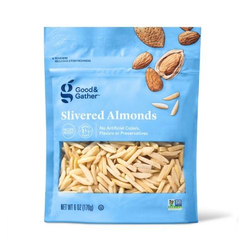 Slivered Almonds - 6oz - Good & Gather™ - image 1 of 3