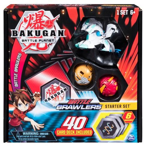Bakugan Battle Brawlers Starter Set with Bakugan Transforming Creatures  Haos Howlkor