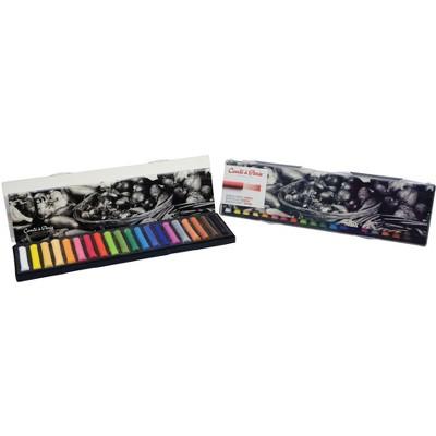 Conte Soft Pastel Set, Assorted Colors, set of 20