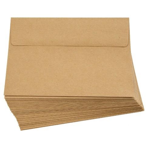 smooth a7 kraft envelopes 50 per pack target