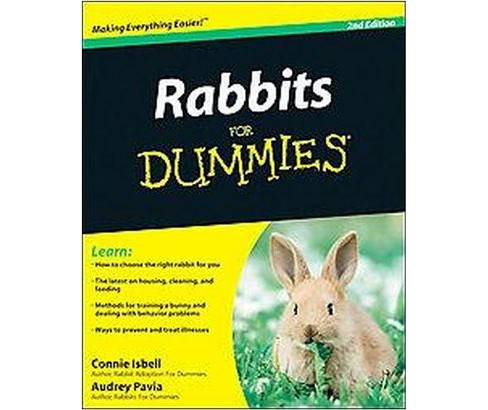 Rabbits for Dummies (Paperback) (Connie Isbell) - image 1 of 1