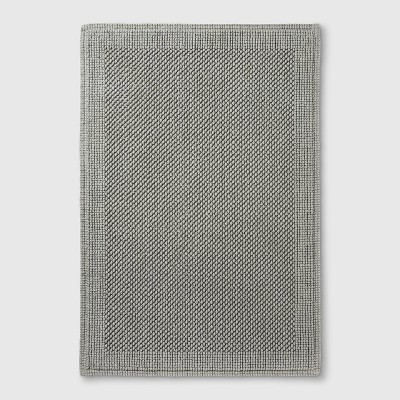 30  x 21 Performance Textured Bathtub And Shower Mats Gray - Threshold™