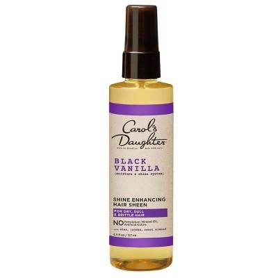 Carol's Daughter Black Vanilla Moisture & Shine Hair Sheen with Shea Butter - 4.3 fl oz
