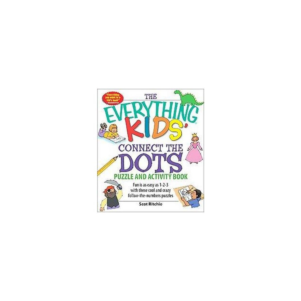 Everything Kids' Connect the Dots Puzzle and Activity Book (Paperback) (Scot Ritchie)