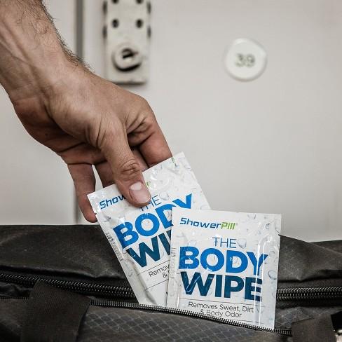 ShowerPill: The Body Wipe