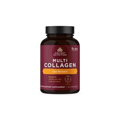Ancient Nutrition Multi Collagen Gut Restore Capsules - 45ct