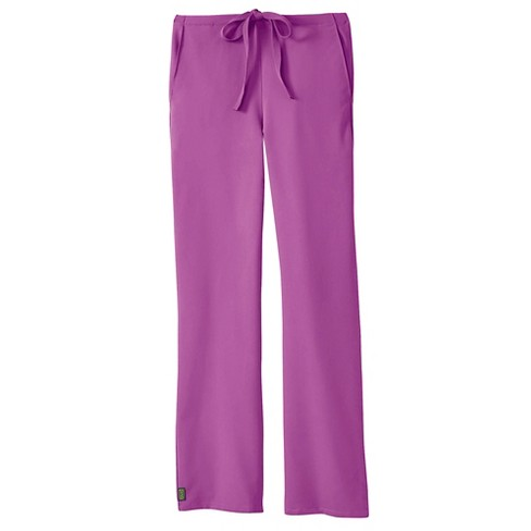 Newport Ave Scrub Pants Purple Small Tall - image 1 of 1