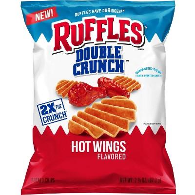Potato Chips: Ruffles Double Crunch