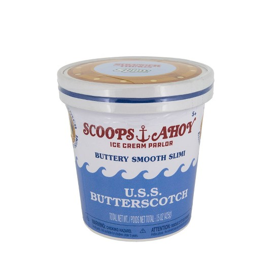 Stranger Things Scoops Ahoy USS Butterscotch Slime image number null