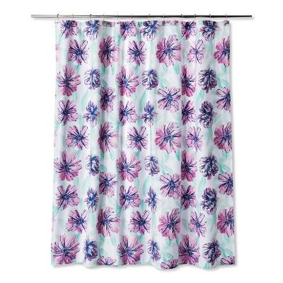Floral Rosebloom Shower Curtain Rosebloom - Room Essentials™