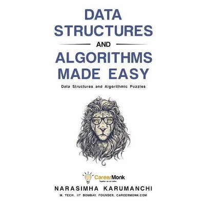 Data Structures and Algorithms Made Easy - 5th Edition by  Narasimha Karumanchi (Paperback)