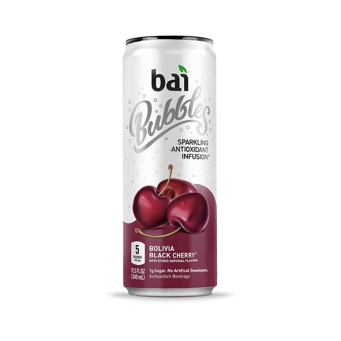 Bai Bubbles Bolivia Black Cherry - 11.5 fl oz Can - image 1 of 3