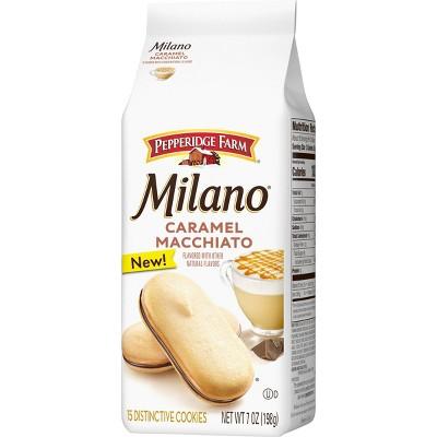 Pepperidge Farm Milano Caramel Macchiato Cookies - 7oz