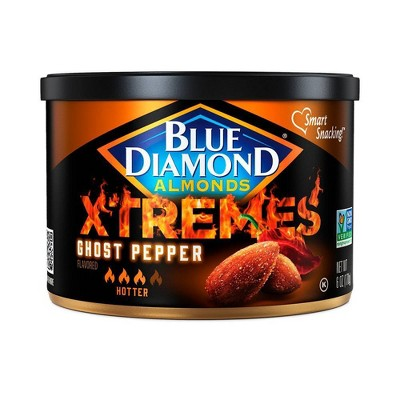 Blue Diamond Almonds Xtremes Ghost Pepper - 6oz
