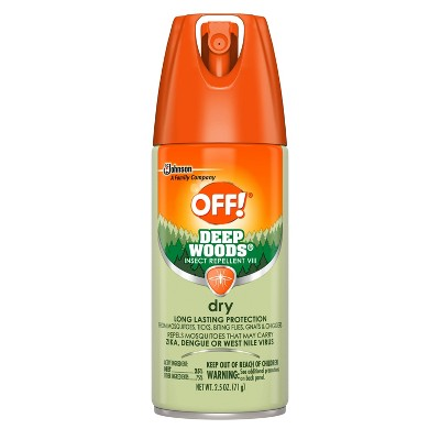 OFF! Deep Woods Dry Insect Repellent VIII - 2.5oz/1ct