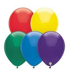 72ct Mixed Color Balloons Pack