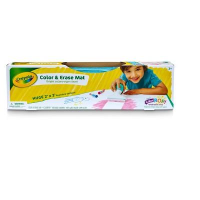 Crayola Color & Erase Mat Portable Coloring Kit