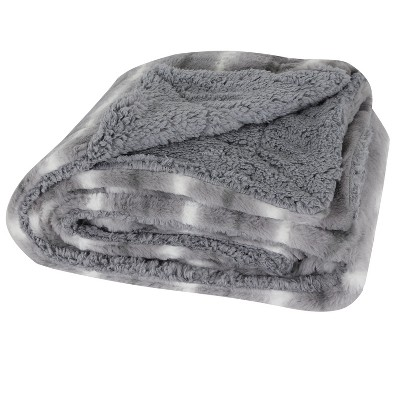 Mandy Throw Blanket Gray - Décor Therapy