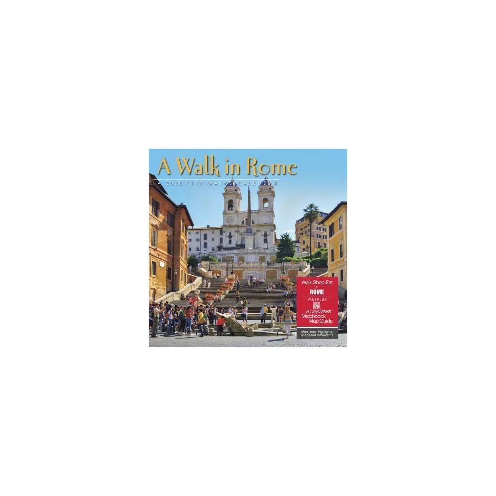 Walk in Rome 2020 Calendar - (Paperback)