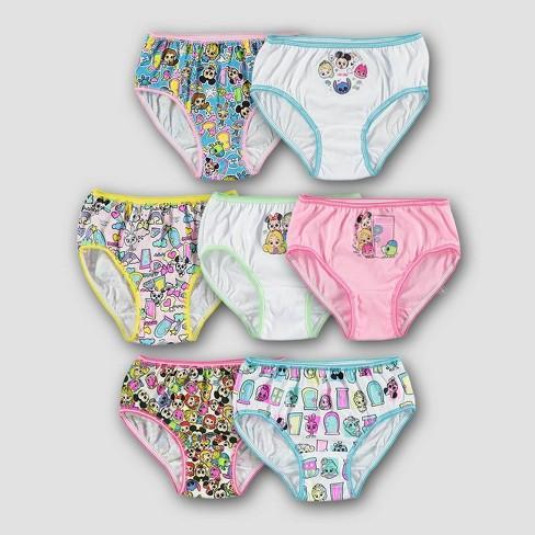 Girls' Disney Doorables 7pk Bikini Briefs - image 1 of 3