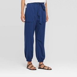 ba1a0cc9 Women's Mid-Rise Straight Leg Ankle Length Cargo Jogger - Prologue™ Navy