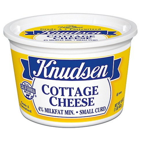 Knudsen 4% Small Curd Cottage Cheese - 16oz - image 1 of 1