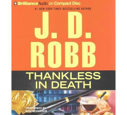 Thankless in Death (Abridged) (CD/Spoken Word) (J. D. Robb) - image 1 of 1