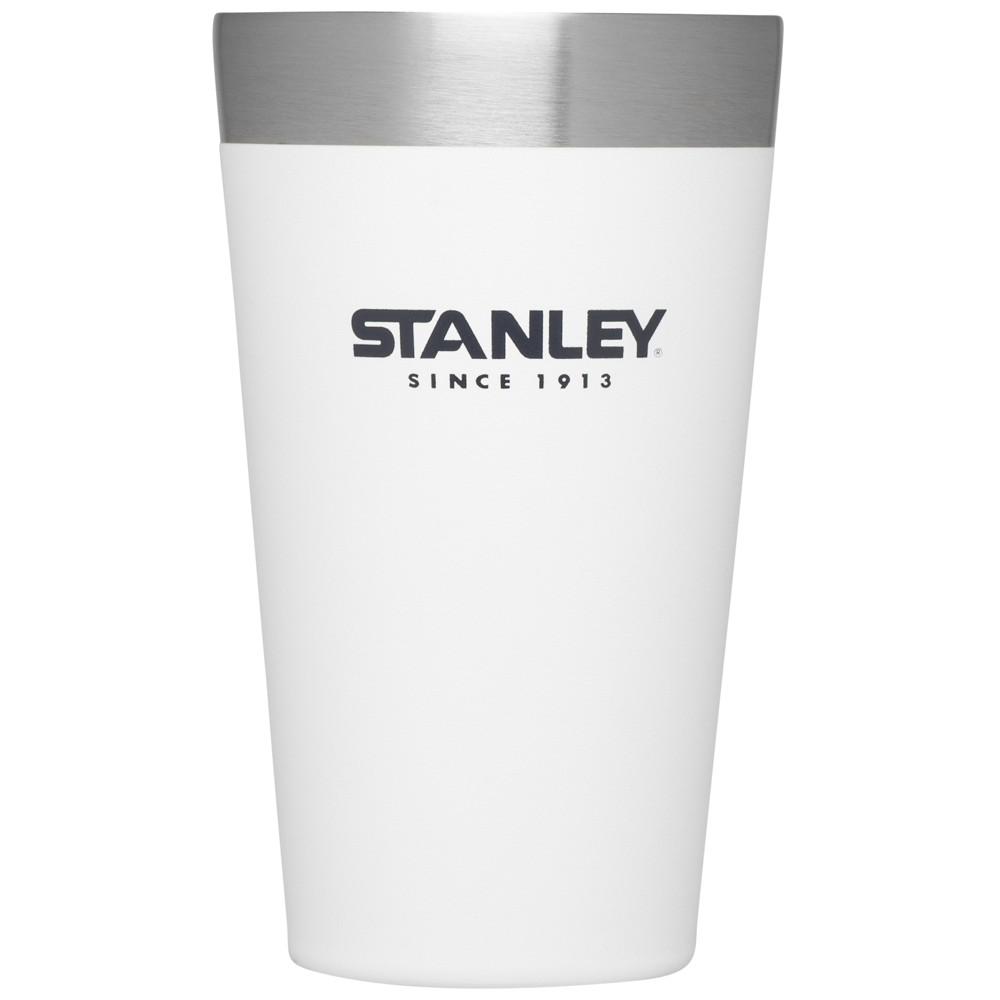 Stanley Adventure Stacking Vacuum Pint Glass - Polar White (16oz)
