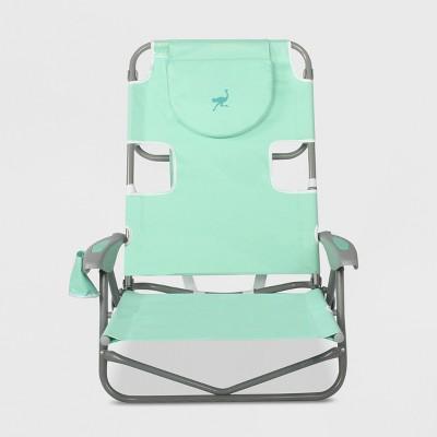 Backpack Beach Chair - Teal - Ostrich