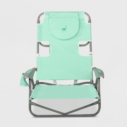 Beach Chair with Backpack Straps - Ostrich - image 1 of 5