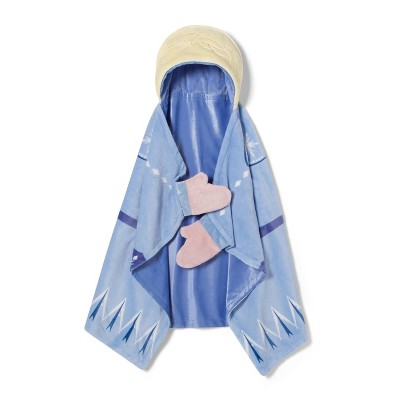 """frozen-2-elsa-30""""x50""""-toddler-hooded-blanket---disney-store by shop-this-collection"""