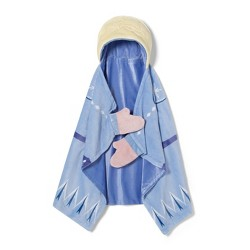 "Frozen 2 Elsa 30""x50"" Toddler Hooded Blanket - Disney store"