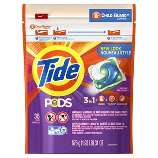 Tide PODS Laundry Detergent Pacs Spring Meadow - 35ct