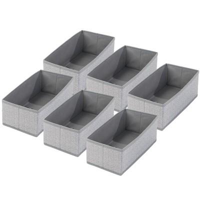 mDesign Kids Fabric Dresser Drawer/Closet Storage Organizer Bin