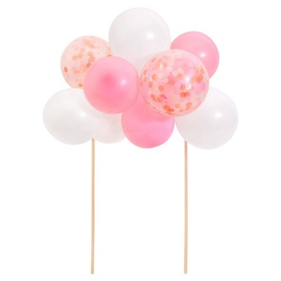 Pink Balloon Cake Topper
