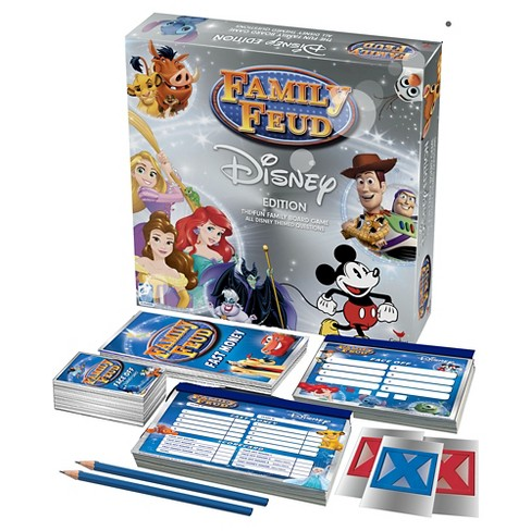 Family Feud Board Game Disney Edition - image 1 of 1