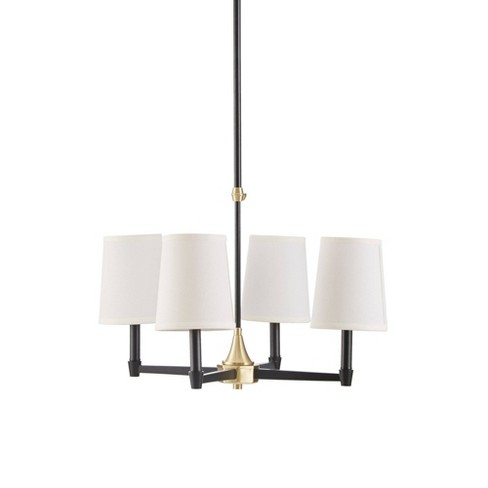 Clark Chandelier Gold/Black (Lamp Only) - image 1 of 4