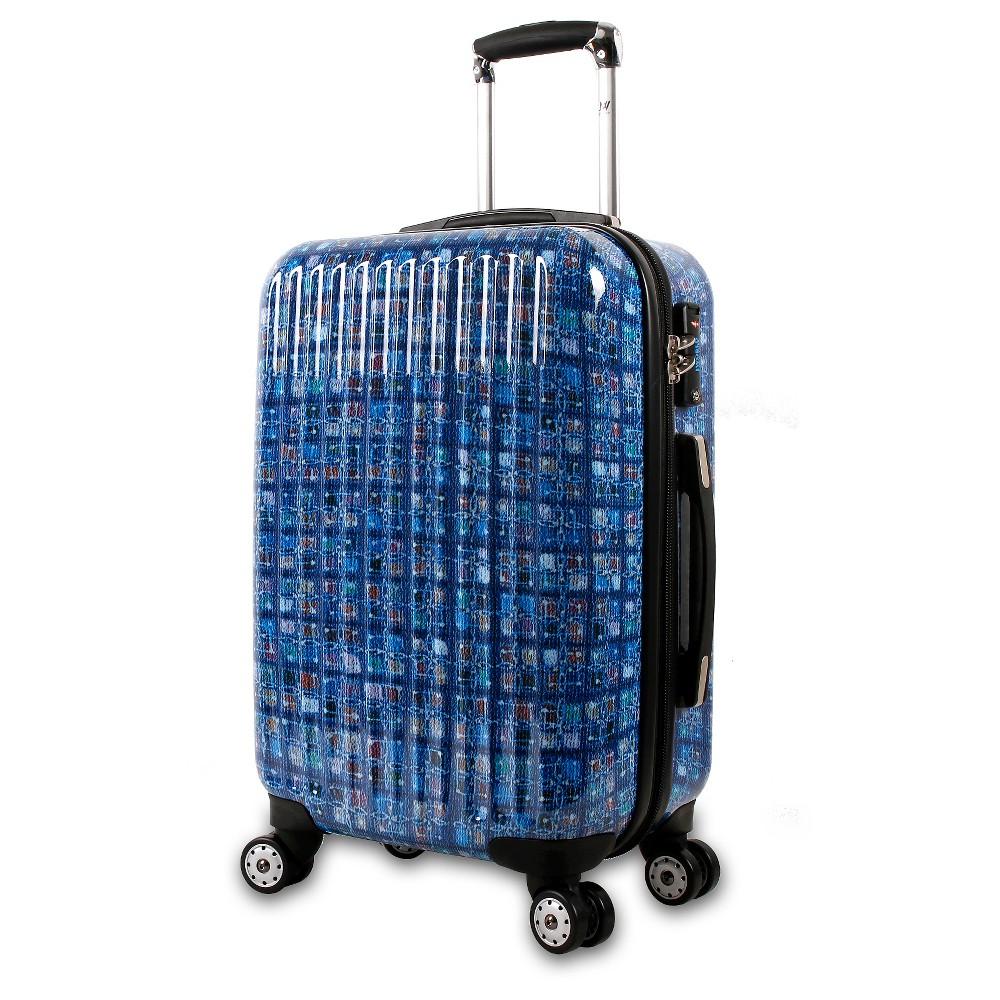 Jworld Hardshell Suitcase - blue @ Target.com