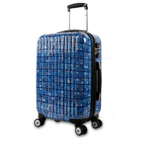 "Jworld Hardshell Suitcase - Blue (20"") - image 1 of 9"