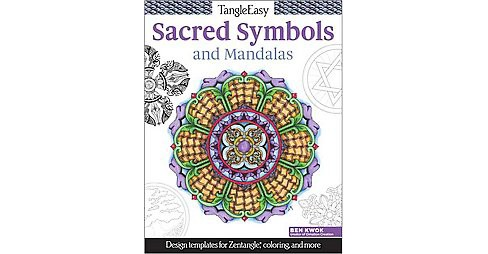 TangleEasy Meaningful Mandalas and Sacred Symbols : Design templates for Zentangle, coloring, and more - image 1 of 1
