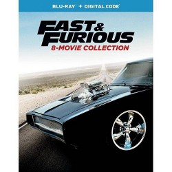 Fast & Furious 8-Movie Collection (Blu-ray + Digital)