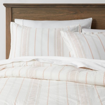 Warm Stripe Reversible Family-Friendly Comforter & Sham Set - Threshold™